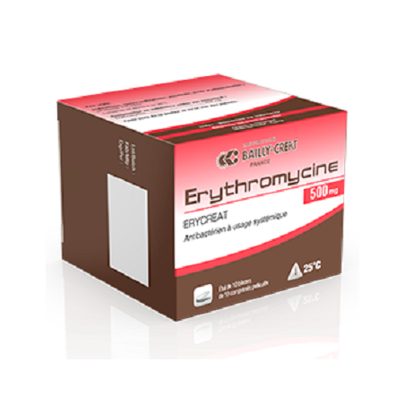 Erythromicine Creat Comprimé B/10*10