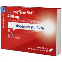 Ibuprofene  Creat 400Mg B/10*10