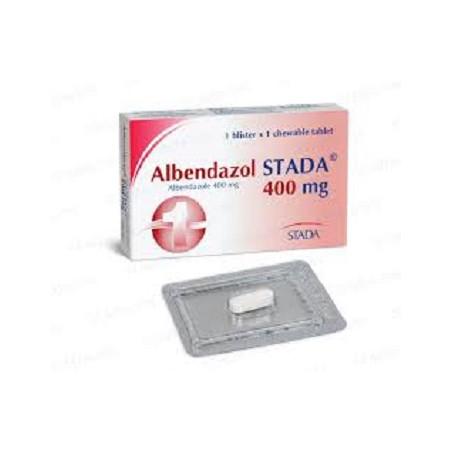 Albendazole Ibugen 400Mg Comprimé B/50
