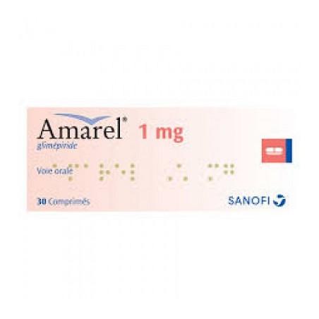 Amarel-1Mg Comprimé