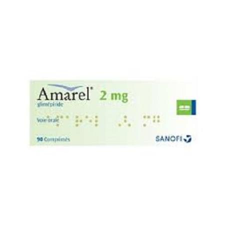 Amarel-2Mg Comprimé