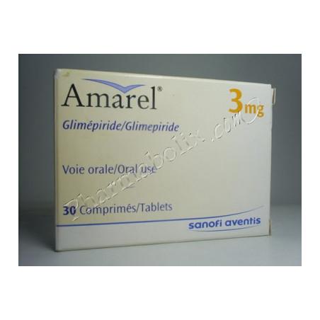 Amarel-3Mg Comprimé
