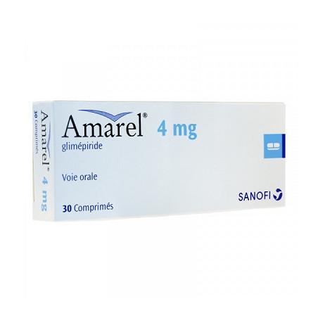 Amarel-4Mg Comprimé