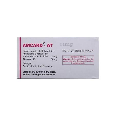 Amcard-5Mg Comprimé B/14
