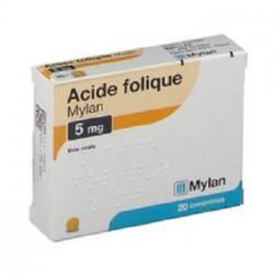 Acide Folique-5Mg Comprimé B/100