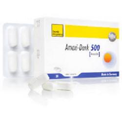 Amoxicla Denk 500Mg/62,5Mg Comprimé