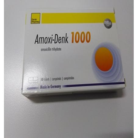 Amoxiclav-Denk 1000/125 B/12
