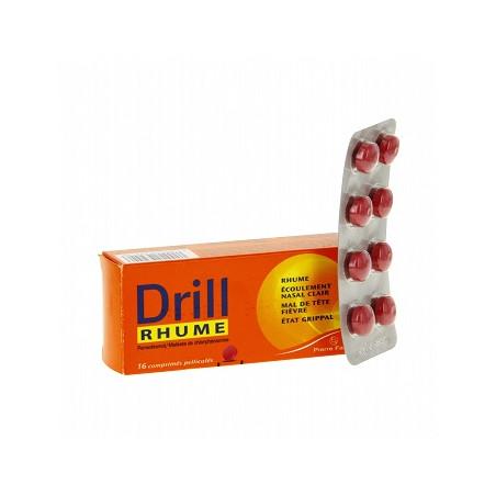 Drill Rhume Comprimé